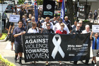 According to Women's Refuge, one in three Kiwi women are victims of domestic violence in their lifetime.