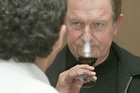 John Hawkesby says good wine deserves a glass bottle. Photo / NZ Herald