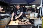Chef Martin Bosley at FAWC's Bosleys Burger Bar. Photo / Paul Taylor