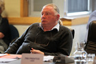 Tom Belford declined Fenton Wilson's challenge, saying other councillors had not declared their involvement in community groups. Photo / Duncan Brown