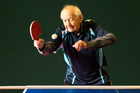 Age shall not wear Harry Taylor, who intends to be competitive at the 17th world veteran table tennis championships. Photo / Martin Hunter