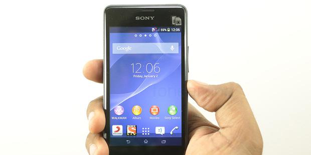 The Sony Xperia E1.