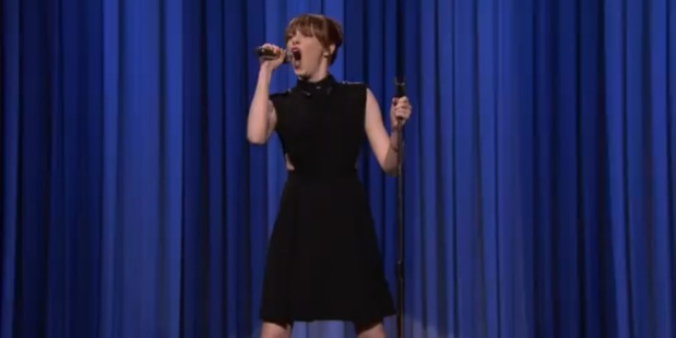 Emma Stone clearly won her lip sync battle with Jimmy Fallon.