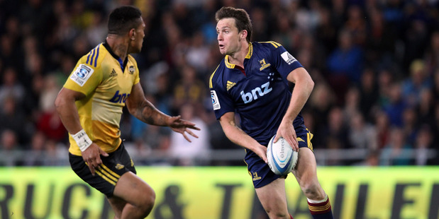 Ben Smith in action for the Highlanders. Photo / Getty
