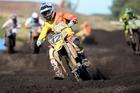 Suzuki rider Rhys Carter in action at Wonthaggi in Victoria, Australia, on Sunday. Photo/Jeff Crowe