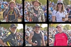 Fans at Pukekohe Raceway. Photo / Greg Bowker