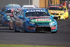 Mark Winterbottom leads the pack. Photo / Getty Images