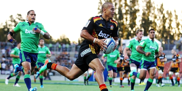 Tim Nanai-Williams is the only Chiefs back to have been picked on more than seven occasions this season. Photo / Getty Images