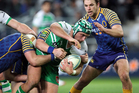 Callum Gibbins in action for Manawatu during the ITM Cup. Photo / Getty Images