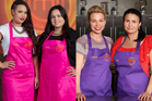 Cooking couples Karena and Kasey (left) and Jaimie and Bec make double the drama on MasterChef NZ.