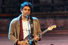 John Mayer, who kept his Vector Arena audience happy with a setlist which  included old favourites and new material. Photo / AP