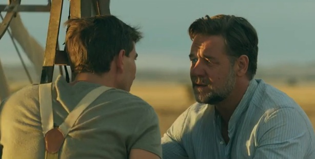 Russell Crowe stars in, and directs, The Water Diviner.