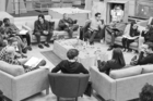 The cast and crew for the new Star Wars film assemble in London for the first script read through. Photo/StarWars.com