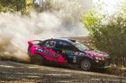 Rotorua's Sloan Cox will race his Taslo Engineering Mitsubishi Evo X in Otago this weekend. Photo/Ben Hughes