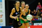 Courtney Tairi in action at ASB Arena for Magic against West Coast Fever. Photo/George Novak