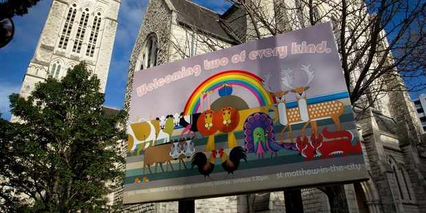 For many years the Anglican Church has been discussing homosexuality, but has yet to reach consensus. Photo / Sarah Ivey
