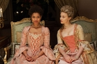Gugu Mbatha-Raw and Sarah Gadon are well-cast in this film set in the 18th century.