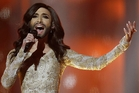 Despite controversy, drag queen Conchita Wurst is a favourite. Photo / AP
