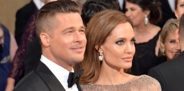 Actors Brad Pitt and Angelina Jolie. Photo / Getty Images