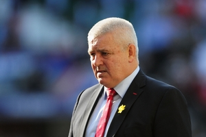 Warren Gatland says SA tour will be tough. Photo / Getty Images