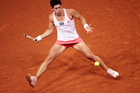 Carla Suarez Navarro in action. Photo / Getty Images.