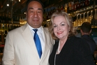 Minister of Justice Judith Collins and her husband David Wong-Tung.