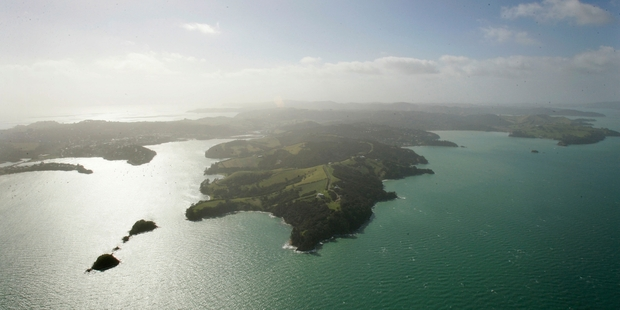 Man O' War Station Ltd went to the Environment Court in its fight to develop the house on Waiheke Island. Photo / APN