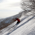 A freeskier makes the most of the powder on Mt Niseko Annupuri. Photo / Sarah Ivey