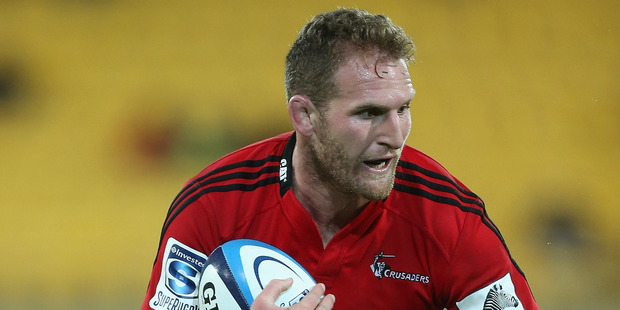 Kieran Read has been ruled out of the Crusaders' match against the Reds in Brisbane on Sunday with concussion. Photo / Getty Images.