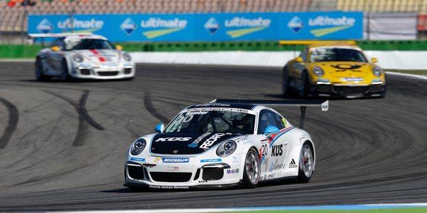 Earl Bamber has his sights set on the Porsche Supercup. Picture / Porsche Orewa's