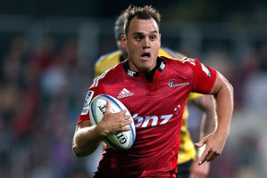 Israel Dagg says the Crusaders are tracking pretty well as their form keeps building. Photo / Getty Images