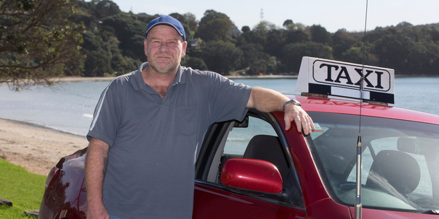 Lindsay Gibbons owns Island Taxis, which offers the cheapest service at $3/km on Waiheke Island. Photo / Brett Phibbs
