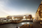 Two proposed commercial buildings for Queens Wharf.