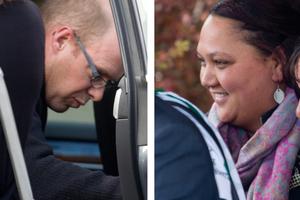 Gareth Clive Boyt and Charlotte Boyt.  Photo / Rotorua Daily Post