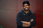 Chamindu Perera who found $100,000 in a toilet when he was in Australia. Photo / Marty Melville