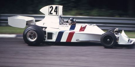 Forty years agao, James Hunt was in his element in F1.