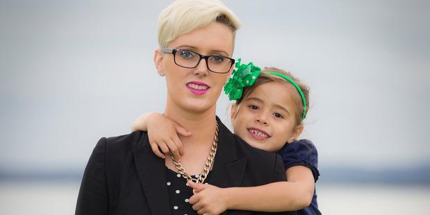 Emma Crowley, breast cancer survivor, with her daughter Caroline Crowley. Photo / Herald on Sunday /  Michael Craig