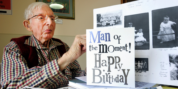 Ted Lee turned 102 yesterday