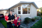 Taryn and Ben van Meygaarden are selling to move closer to Taryn's work and hope to buy a bigger house for them and their sons, Adam, 3, and Luke, 1. Photo / Rhys Palmer