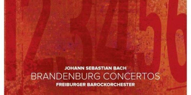 CD cover: Bach: Brandenburg Concertos.