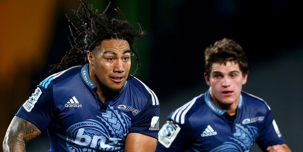 Ma'a Nonu of the Blues. Photo / Getty Images