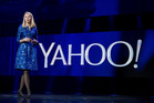 Yahoo president and CEO Marissa Mayer speaking at a keynote address in January. Photo / AP