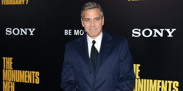 George Clooney. Picture / AP Images