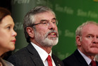 Sinn Fein party leader Gerry Adams. Photo / AP