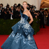 Model Karolina Kurkova wearing a gown by Marchesa. Picture / AP Images