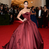 Wow! Comedian Sarah Silverman looks beautiful in a dramatic gown. Picture / AP Images