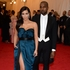 Kim Kardashian and Kanye West. We love that her Lanvin dress has pockets. Picture / AP Images