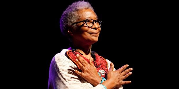 Author Alice Walker. Photo / AP