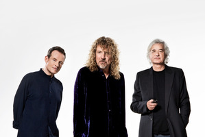 Robert Plant (centre) says he won't be repeating his Led Zeppelin reunion with John Paul Jones (left) and Jimmy Page (right).