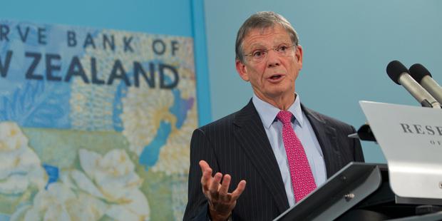Reserve Bank Governor Graeme Wheeler. Photo / Mark Mitchell